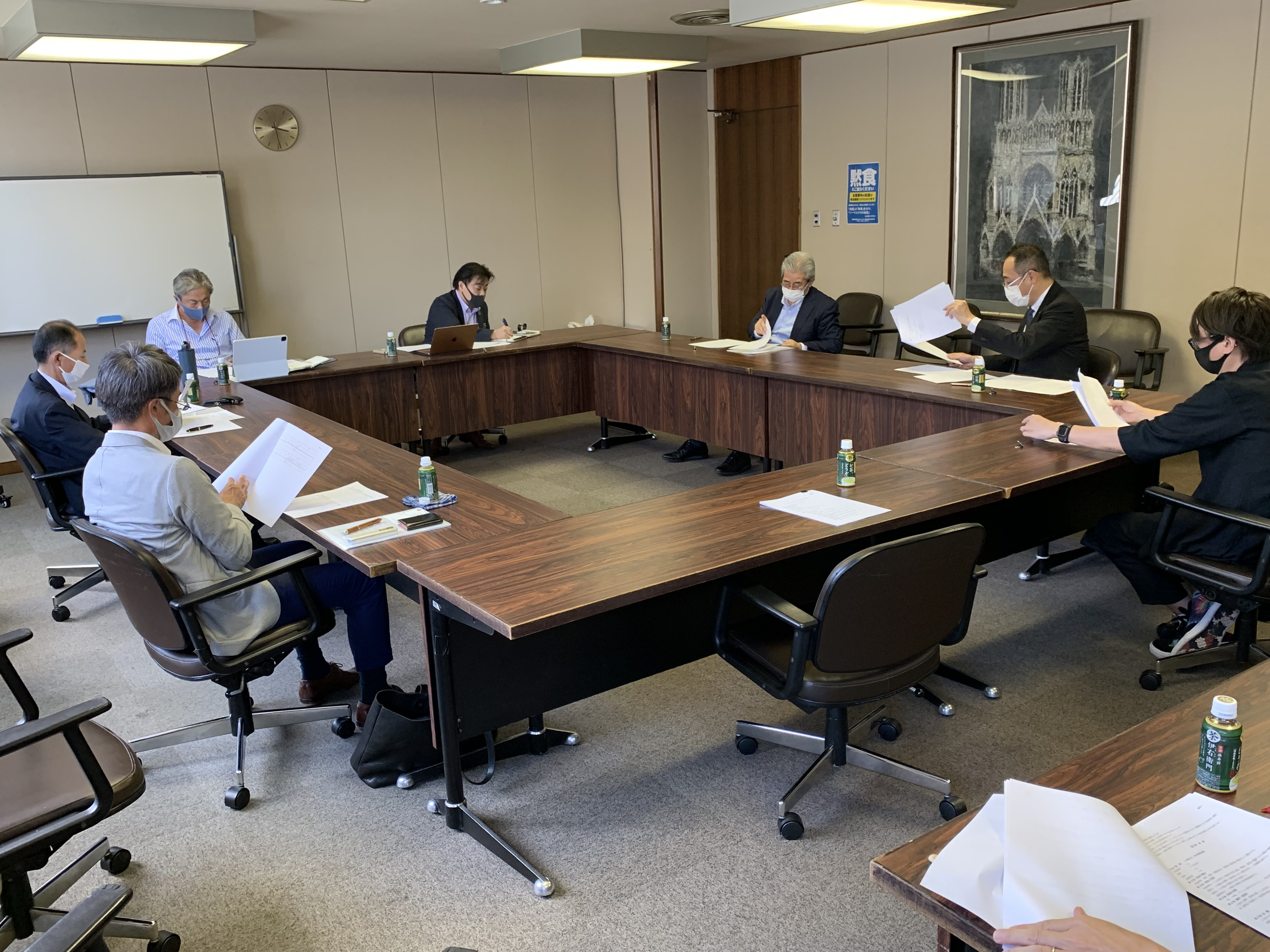 理事会の様子1