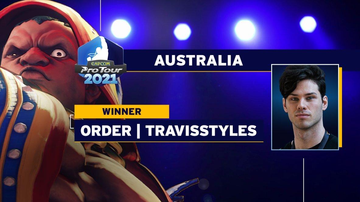オーストラリア大会の優勝者TRAVIS STYLES選手